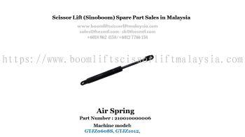 Scissor Lift Spare Part- Air Spring Part No. : 210010000006