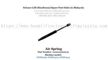 Scissor Lift Spare Part- Air Spring Part No : 210010000075