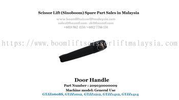 Scissor Lift Spare Part- Door Handle Part No. : 209030000009