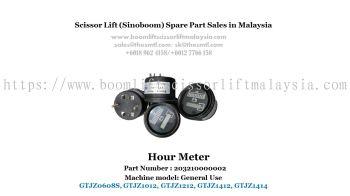 Scissor Lift Spare Part- Hour Meter Part No.: 203210000002