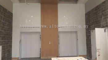 Lift Lobby facade works