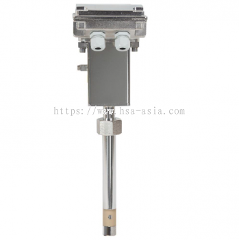 INSERTION SENSOR FOR ELECTROMAGNETIC FLOW METERS MS3780 ISOMAG
