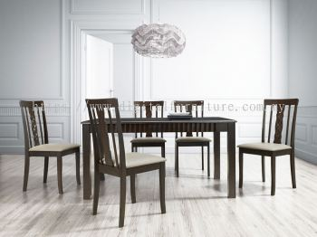 Dining Set (6 Seater) - T13 / C133