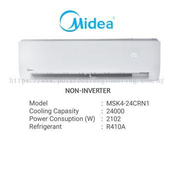 MIDEA SPLIT UNIT 2.5HP NON-INVERTER MSK4-24CRN1