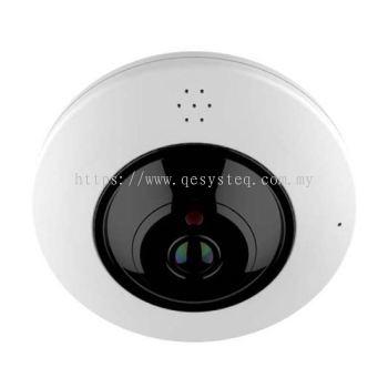 Fisheye IR Dome IP Camera