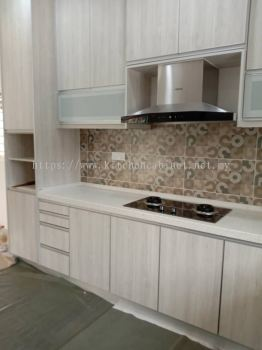Wall Cabinet with Pull-up Glass Door, Puchong