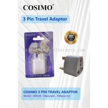 COSIMO 3 PIN TRAVEL ADAPTOR