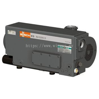 BUSCH RA 0205 D Oil Rotary Vane Vacuum Pump