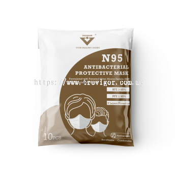 N95 Antibacterial Mask (FFP2 Level)