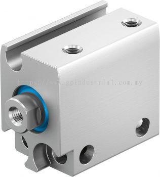 Compact cylinder, double-acting ADN-S