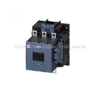 3RT CONTACTOR 3P 115A 55KW 400V