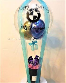 Hot Air Balloon Chocolate Bouquet A