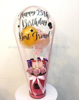 Hot Air Balloon Chocolate Bouquet B