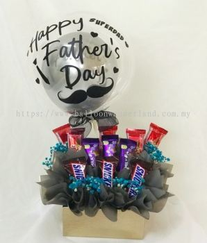 Father's Day Chocolate Bouquet Box