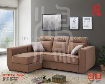 HF 2123 L Shape Sofa Set