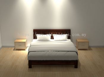 Bed C - 123456xax