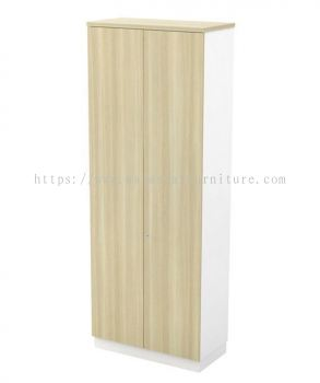 MUPHI FULL HEIGHT WOODEN OFFICE FILING CABINET/CUPBOARD SWINGING DOOR (W/O HANDLE) AB-YD 21 (E)