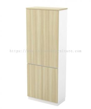 MUPHI FULL HEIGHT WOODEN OFFICE FILING CABINET/CUPBOARD SWINGING DOOR (W/O HANDLE) AB-YTD 21 (E)