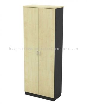 TITUS FULL HEIGHT WOODEN OFFICE FILING CABINET/CUPBOARD SWINGING DOOR AT-YD 21