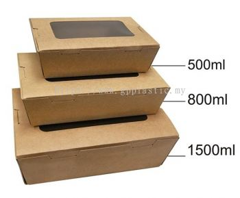 Window Paper Lunch Box ֽ����