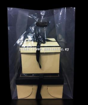 Kidney Hole PP/PE Carrier Bag ֽ��