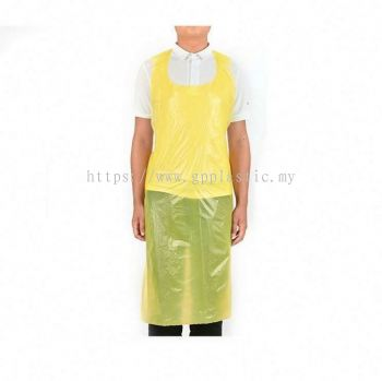 Yellow Plastic Apron