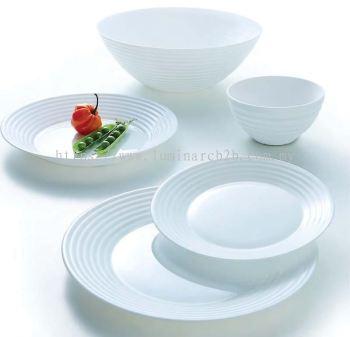 Luminarc Harena White Dinnerware