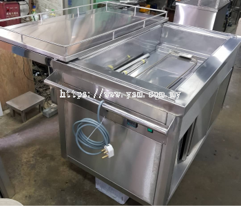 ELECTRIC SUS PORTABLE FOOD CART �C SUITABLE FOR HOSPITAL USE