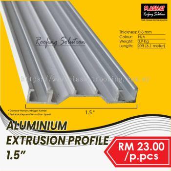 """Aluminium Extrusion Profile 1.5"""""""