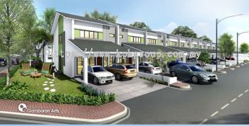 Gurun East @ Double Storey Terraced House