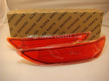Bumper Reflector L/Bar YCL-389D H.City 15Y (Red)- (S/N : 001708)