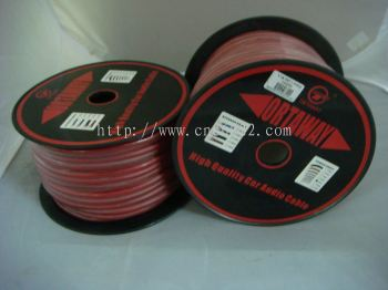 LA Power Cable SGA- 50M (RED) (S/N: 000531)