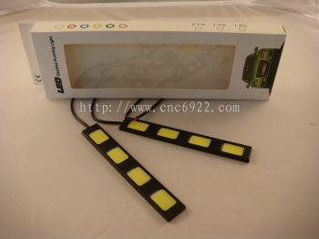 DAY LIGHT COB A-4 4LED X 2PCS(WHITE) (S/N: 001834)