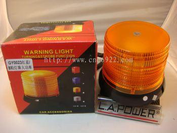 GY-0023 STROBE WARNING LIGHT (YELLOW) (S/N: 001713)