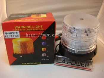 GY-0023 STROBE WARNING LIGHT (RED&BLUE) (S/N:001715)