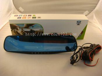 "RECORDER X-13 4.3"" FRONT/ REAR FULL HD REAR VIEW DVR+8GB SD CARD (S/N: 002510)"
