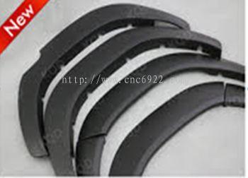 FORD RANGER 2015 SIDE FENDER ARCH ABS H20 T7 BLACK 4PCS/SET (S/N:001694)