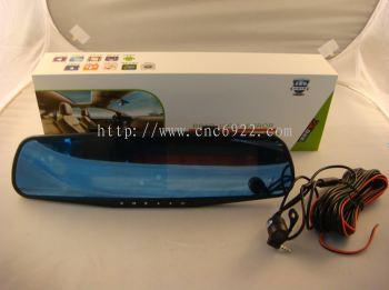 "RECORDER 4.3"" FRONT / REAR FULL HD DVR + 8GB SD CARD (S/N:002510)"