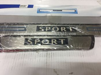 SIDE STEEL PLATE LED SPORT (s/n: 000033)