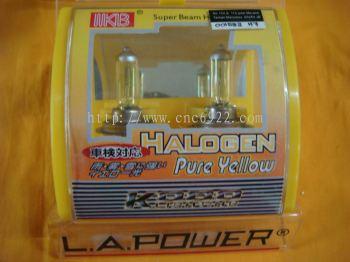 Pure Yellow Halogen Bulb