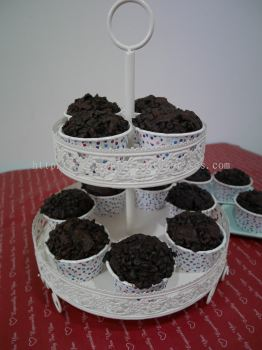 2 Layer Cup Cake Stand