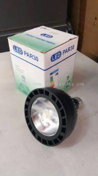 PAR30 40W COB LED BULB , WHITE & WARM )