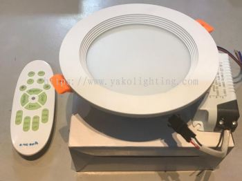 GY-2.4GHZ 12W RD LED DOWN LIGHT