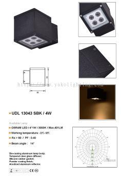 UDL13043SBK-4W