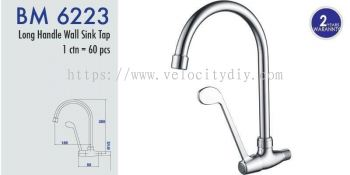 Long Handle Wall Sink Tap