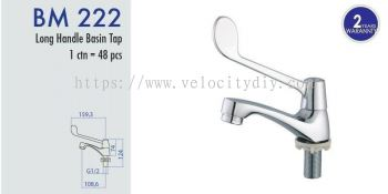 Long Handle Basin Tap