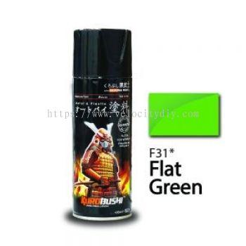 SAMURAI F31 FLAT GREEN