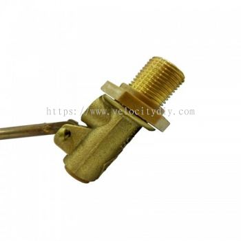"15mm(1/2"") BRASS FLOAT VALVE"