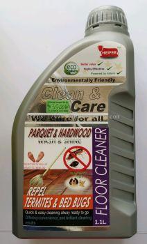 HEIFER PARQUET & HARDWOOD REPEL TERMITES & BED BUGS FLOOR CLEANER 1.1L (HH-148)