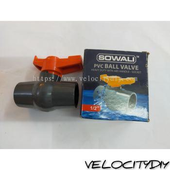 15mm PVC BALL VALVE THREAD(VC239)